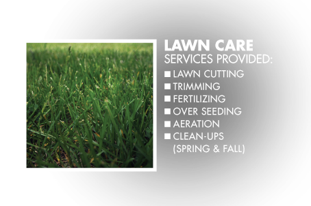 Lawn Care Services Provided